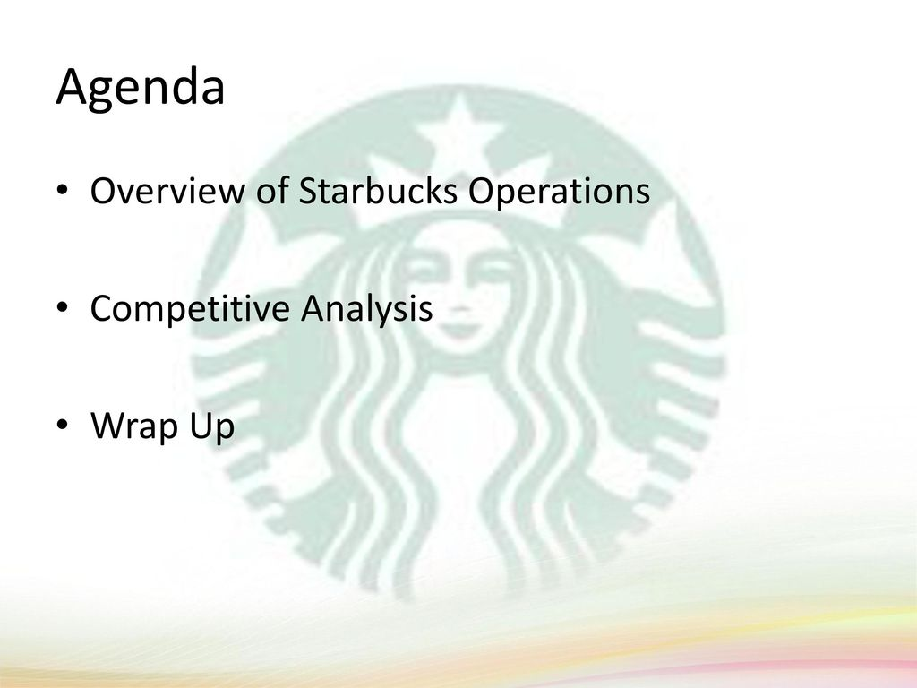 starbucks operations management Operations strategy it is concerned less with individual processes and more with the total transformation process that is the whole business and how the competitive environment is changing and what the operation has to do in.
