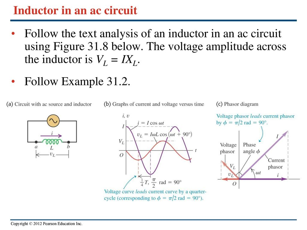 Chapter 31 alternating current ppt video online download inductor in an ac circuit pooptronica Gallery