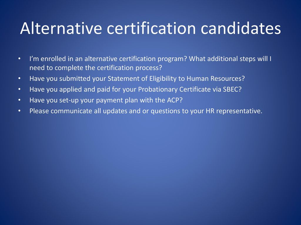 Inductionbe the legacy ppt download alternative certification candidates 1betcityfo Choice Image