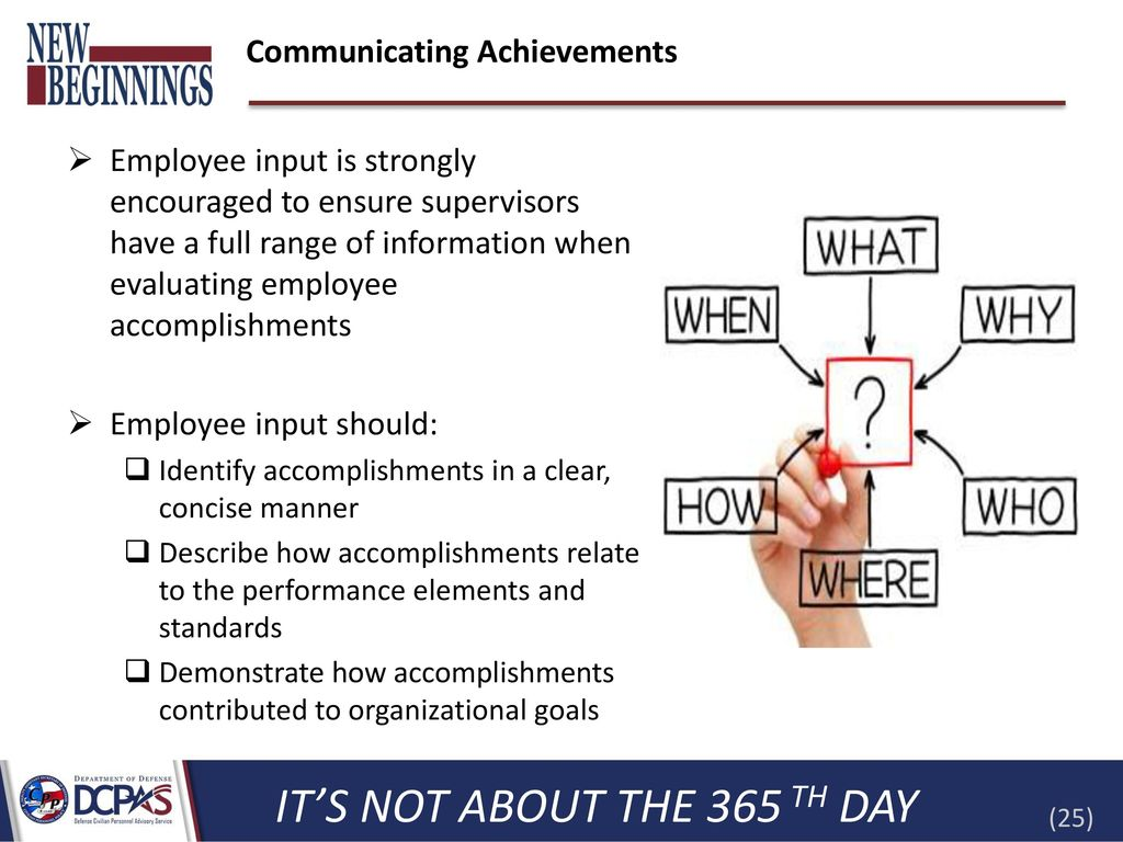 how to write accomplishments for performance appraisal