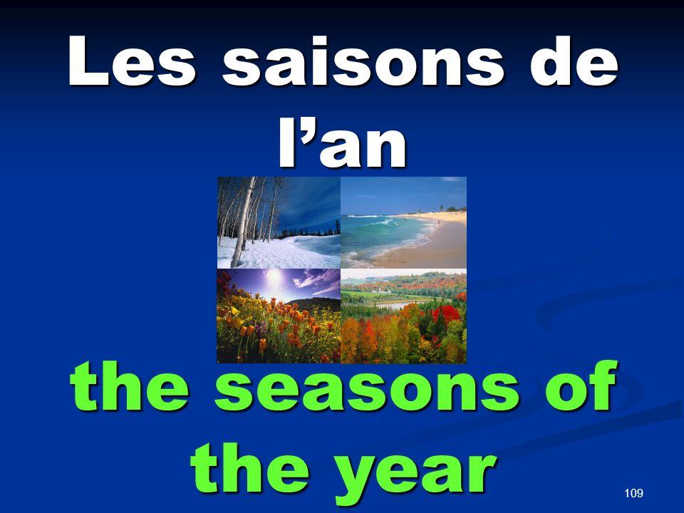 la saison the season
