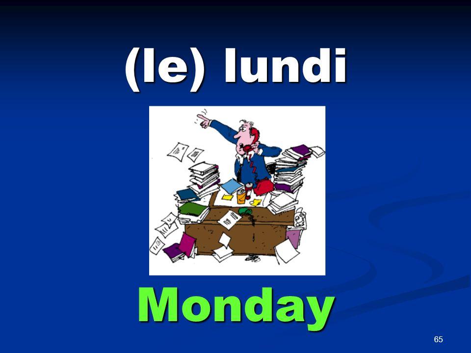 (le) mardi Tuesday