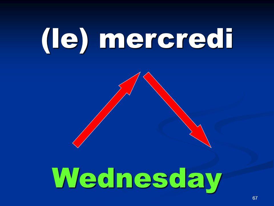 (le) jeudi Thursday