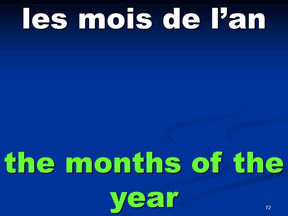 janvier January