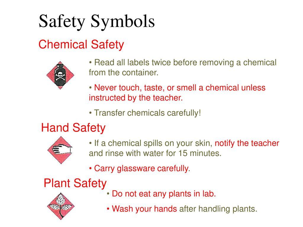 Safety symbols ppt download 19 safety buycottarizona Choice Image