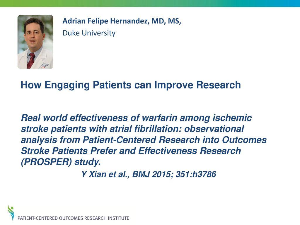 Real world effectiveness of warfarin among ischemic stroke ...
