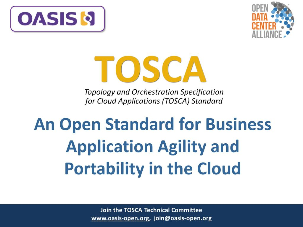 Tosca topology and orchestration specification for cloud 1 tosca malvernweather Choice Image