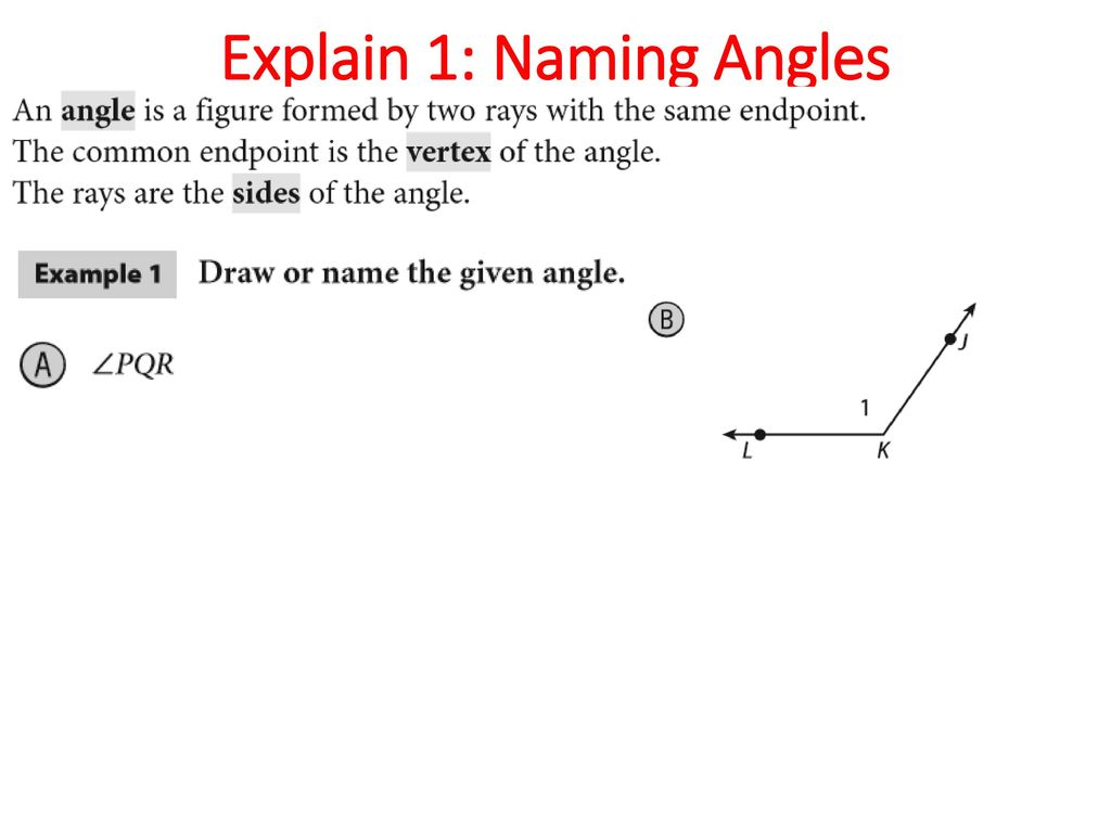 worksheet Naming Angles topic 1 transformations and congruence geometry notation ppt 16 explain naming angles