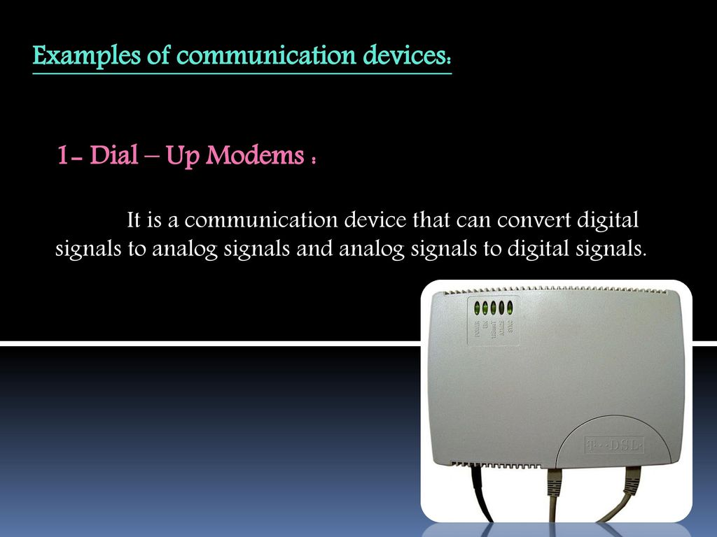 Communication Devices Ppt Download