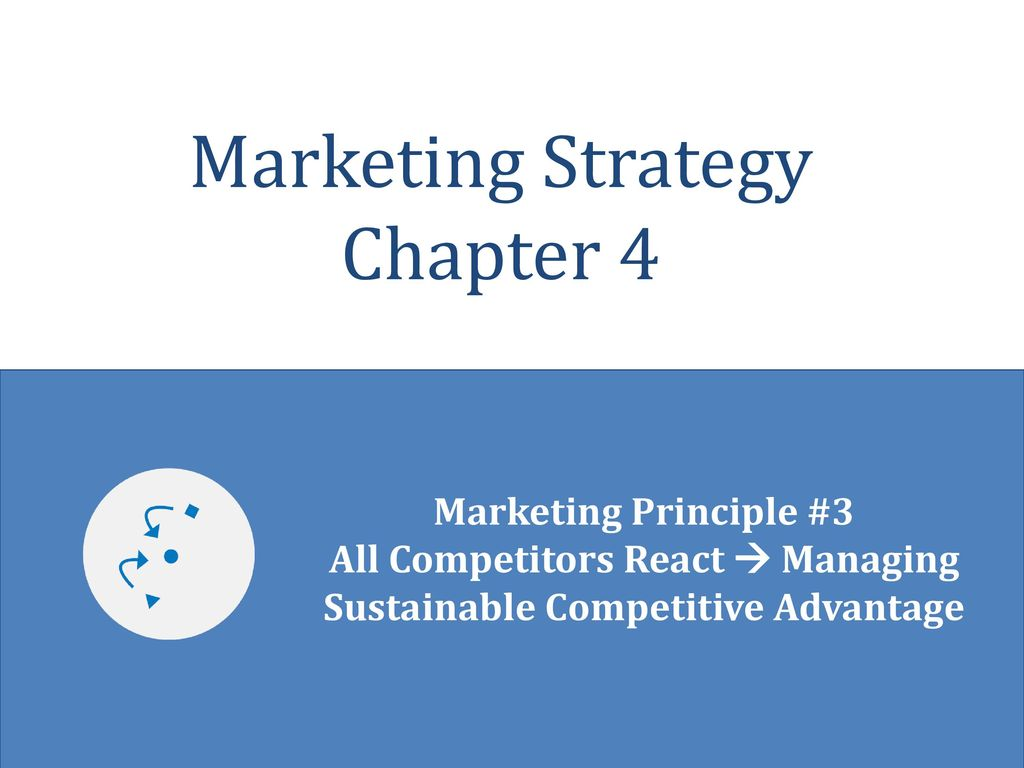 Marketing strategy for competitive advantage essay