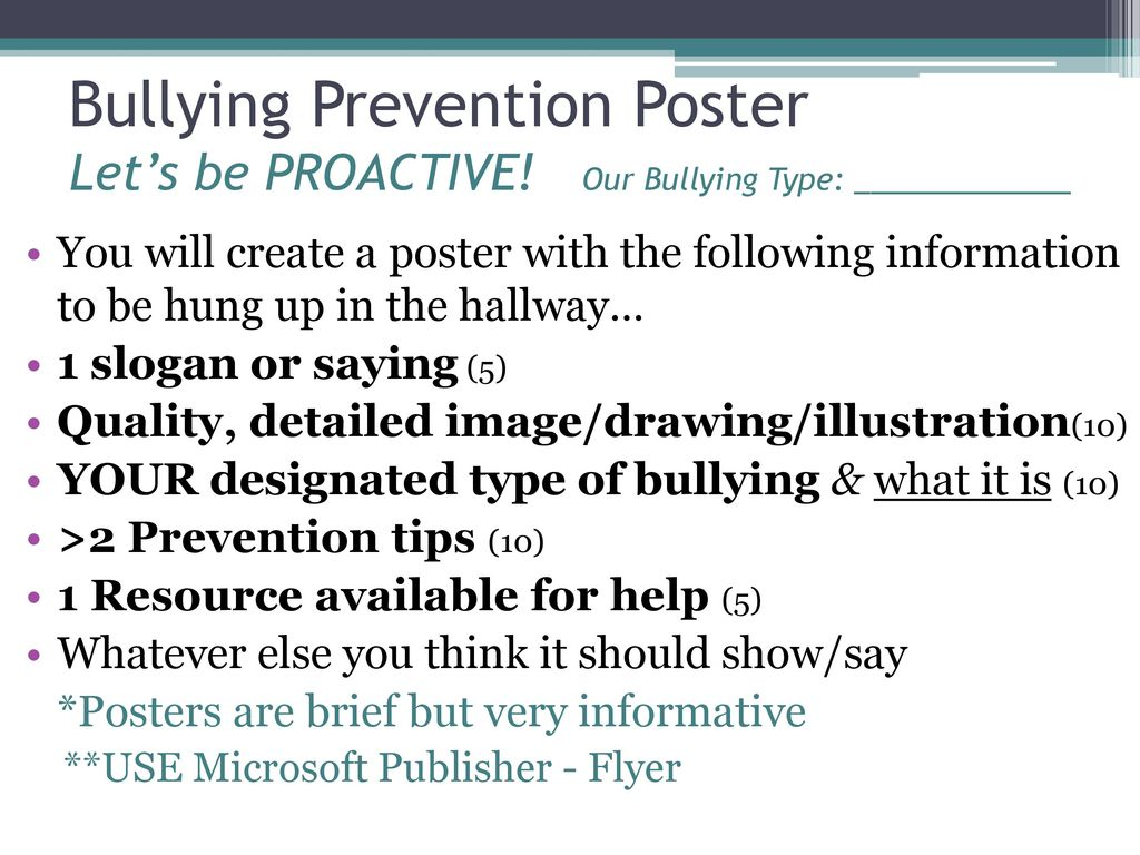 The different types of bullying and solutions to address the problem