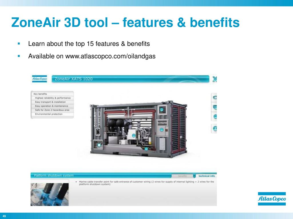 Atlas Copco Serving The Oil Gas Industry Ppt Video