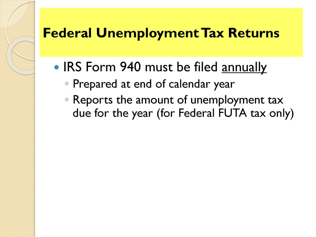 irs form 940 2013 - Mersn.proforum.co