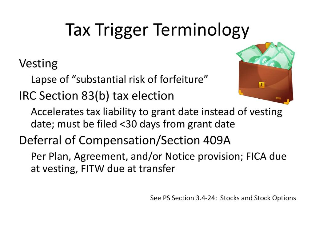 Reporting stock options sales tax return