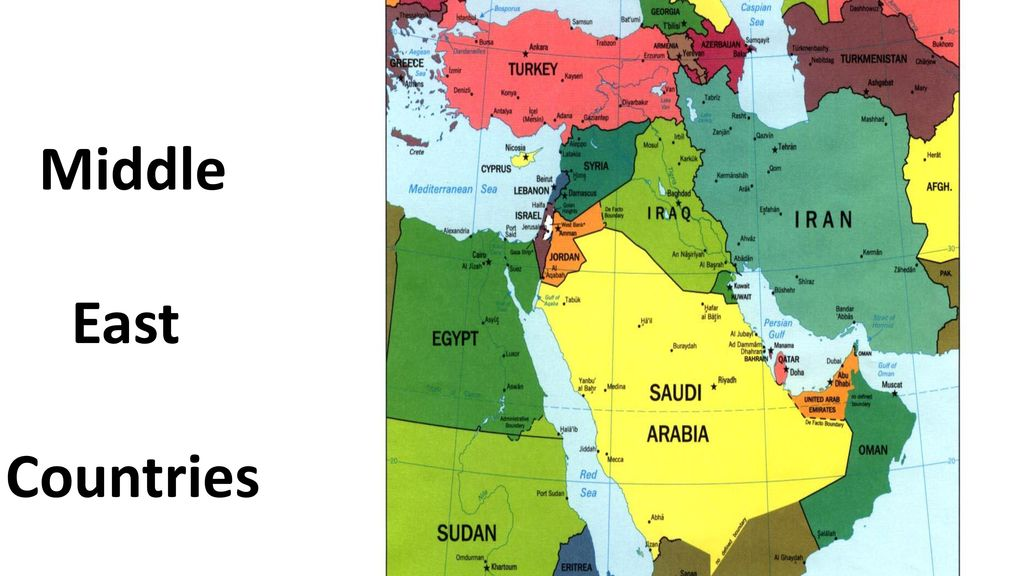 Middle east countries