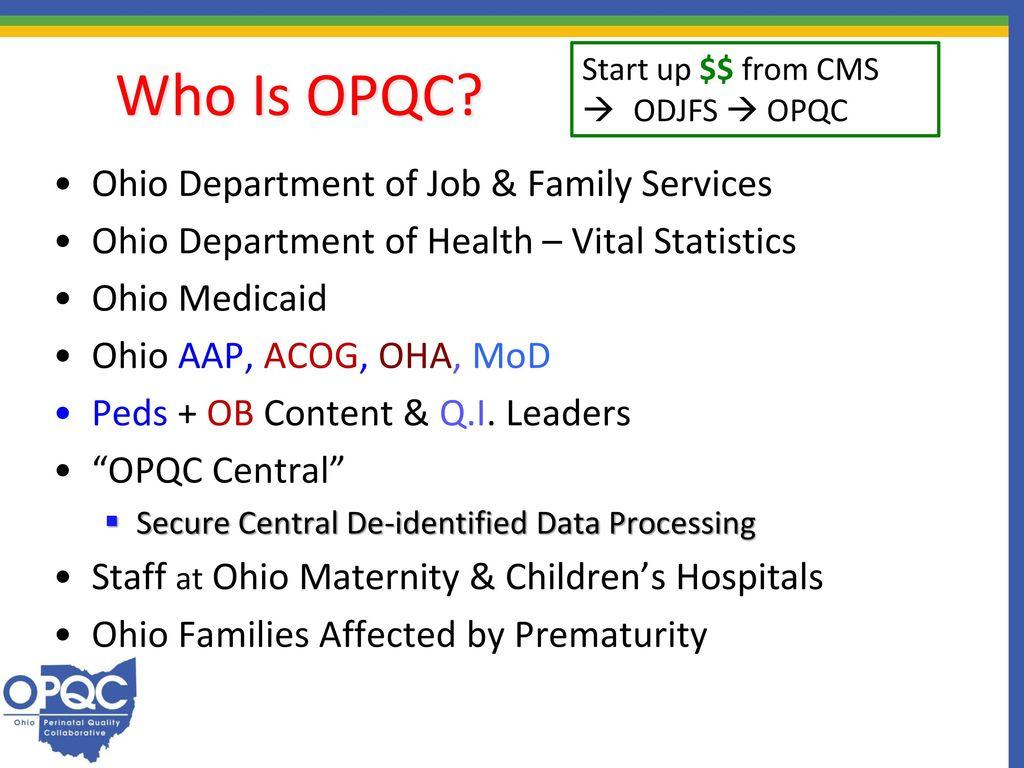 Ilpqc fourth annual conference november 3 ppt video online download who is opqc ohio department of job family services aiddatafo Image collections