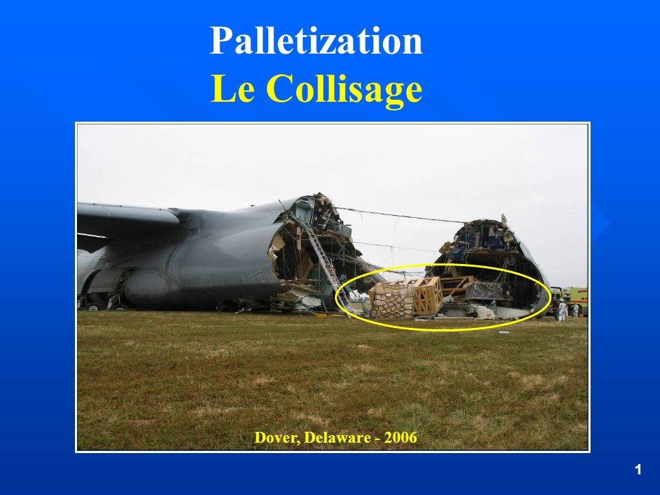 Palletization Le Collisage