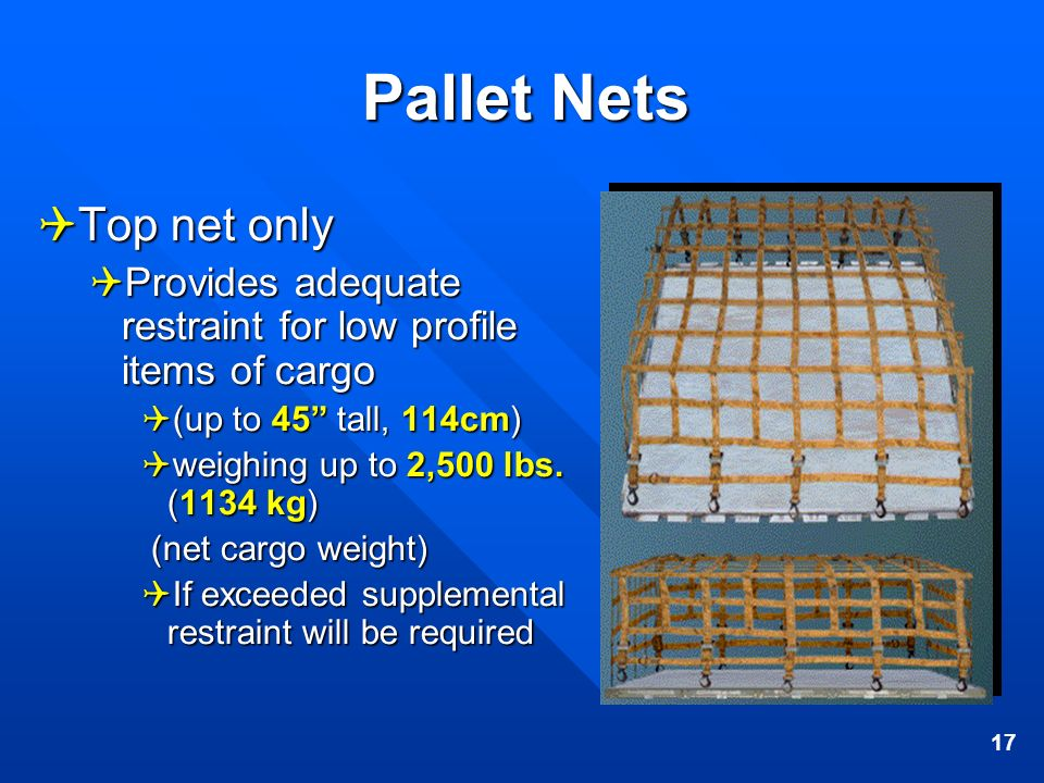 Pallet Nets Top net only