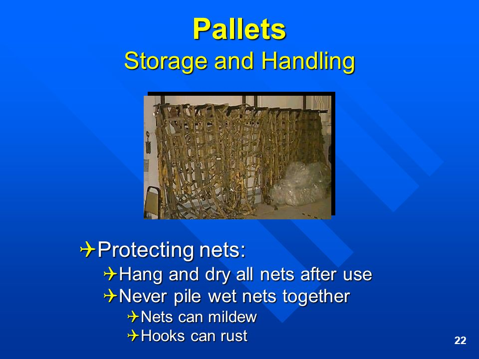 Pallets Storage and Handling