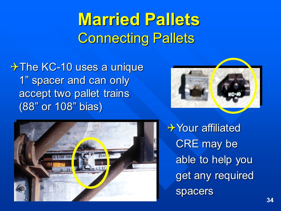 Married Pallets Connecting Pallets