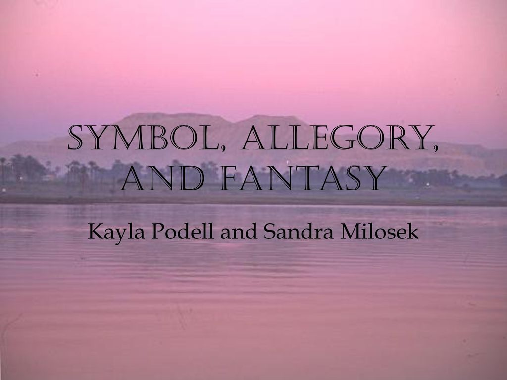 Symbol allegory and fantasy ppt video online download symbol allegory and fantasy buycottarizona