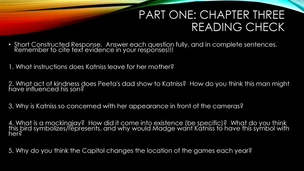 The Hunger Games Ppt Download