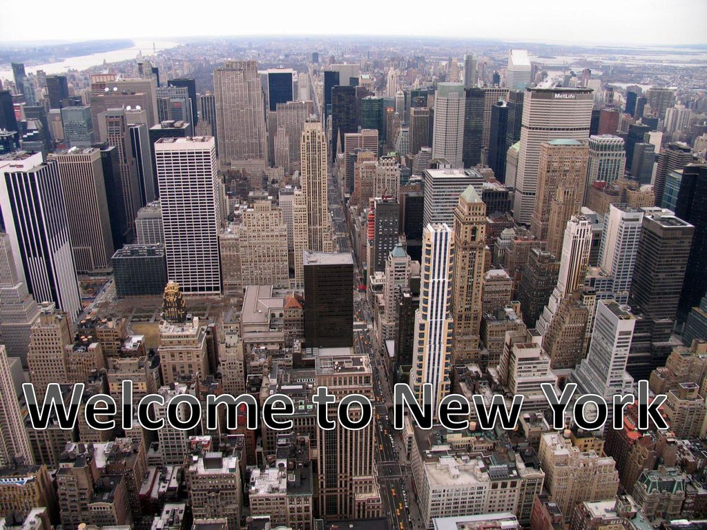 Welcome To New York Ppt Video Online Download