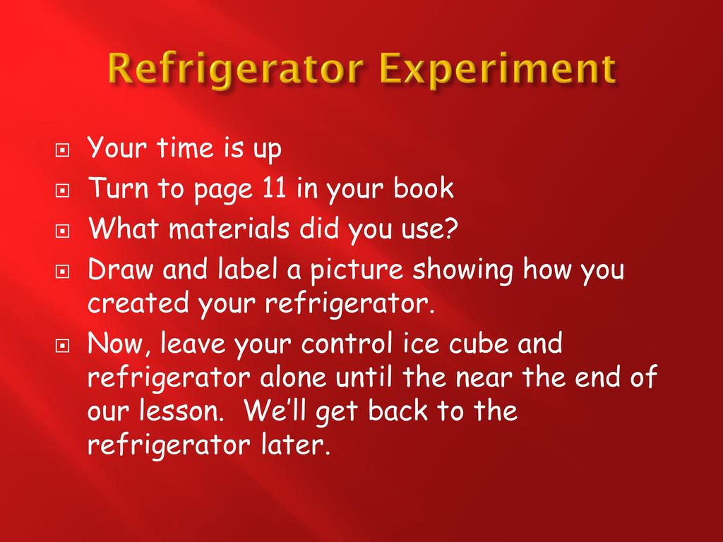 refrigeration experiment • research • design • quality • value • service • experience • engineering departments look to refrigeration research for assistance in design of component parts and procurement of test samples.