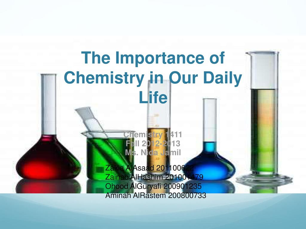 chemistry in our daily life paragraph i500 It has become a necessity in our daily routines we shall talk now about the basic applications of polymers without which life more chemistry essays  we.