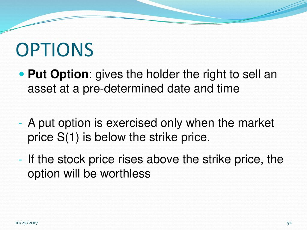 Best stock to sell put options