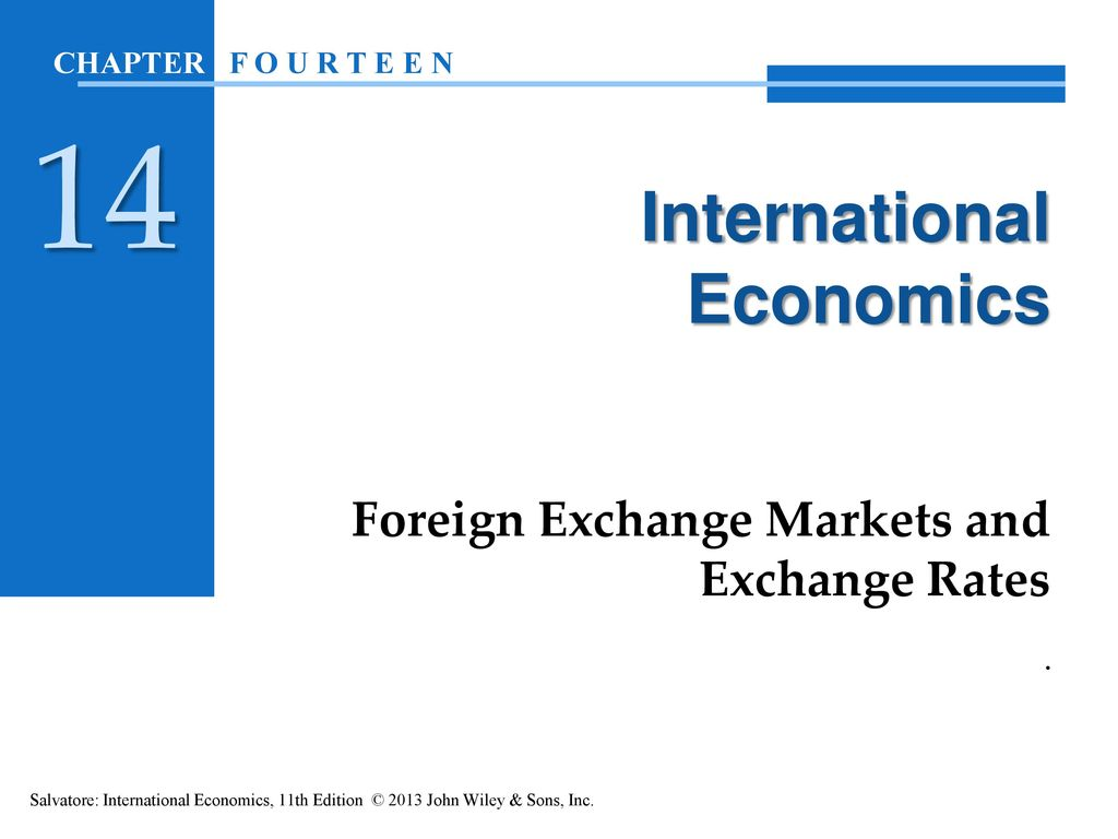 Foreign exchange economics