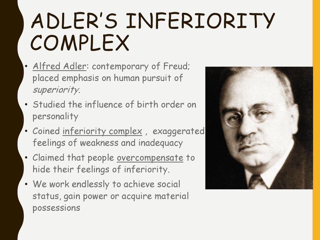 reactions on alfred adler theory