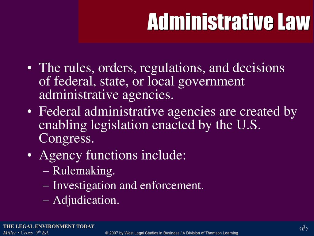 administrative agency 1 1 in each of the following cases the court decided the unauthorized practice  issue after  see vom baur, representation before administrative agencies, 30.