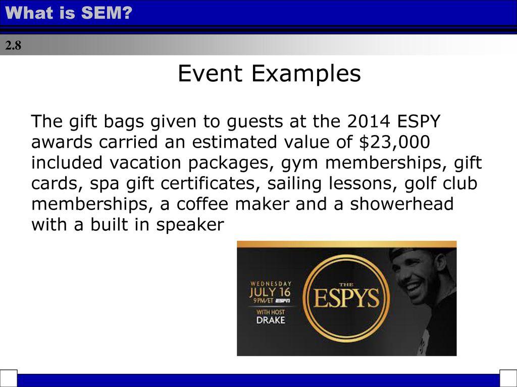 sem examples