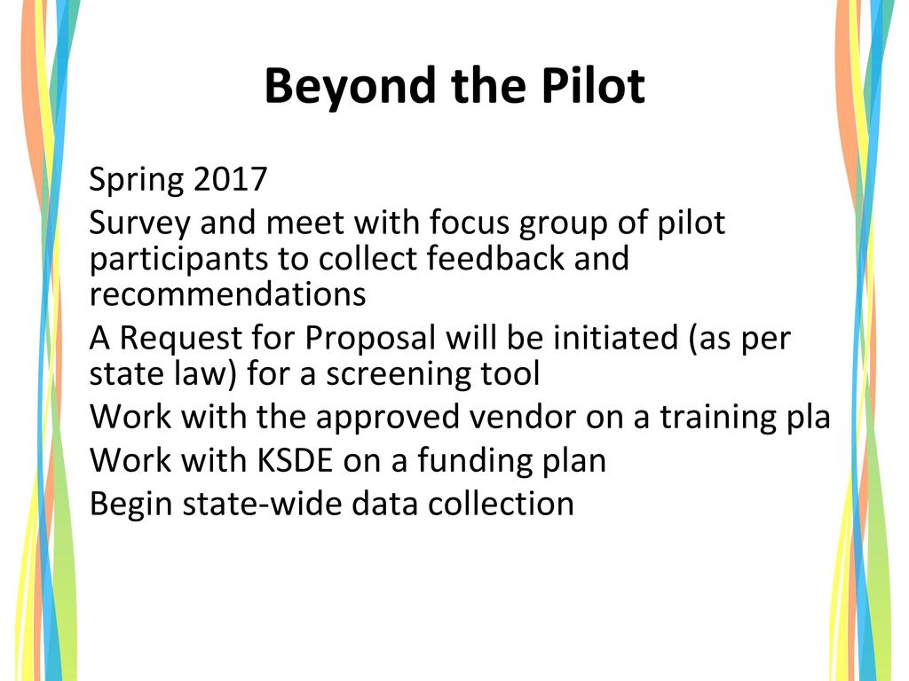 Beyond the Pilot Spring 2017