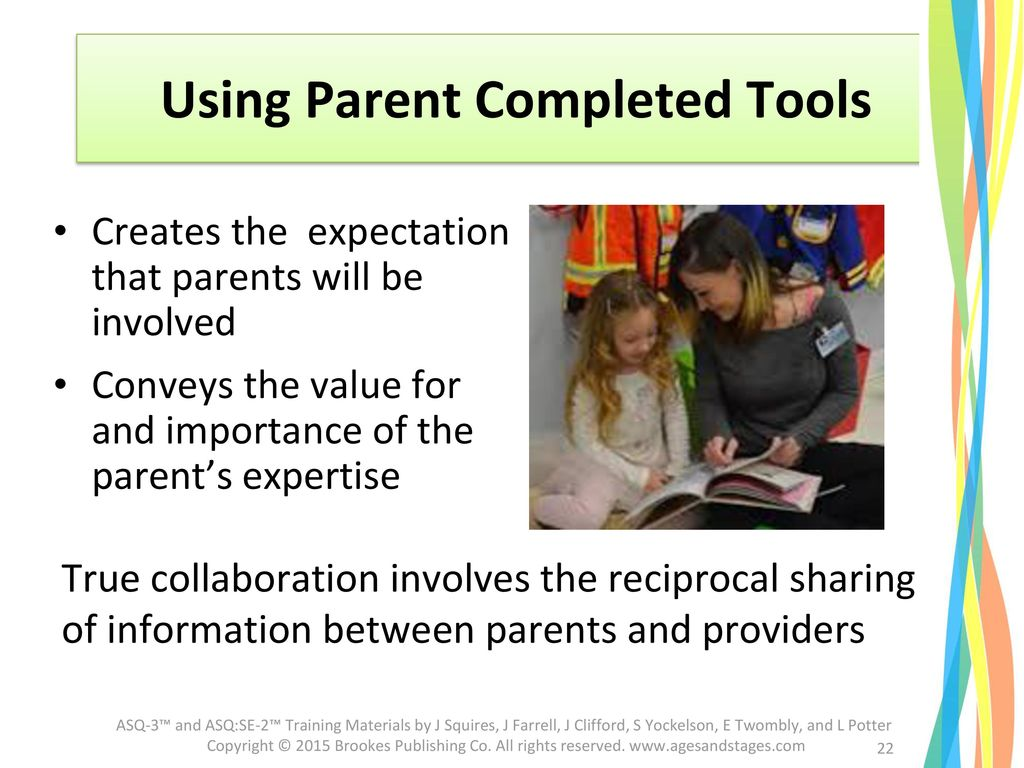 Using Parent Completed Tools
