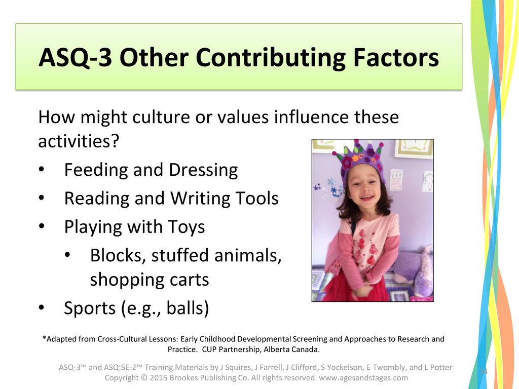 ASQ-3 Other Contributing Factors