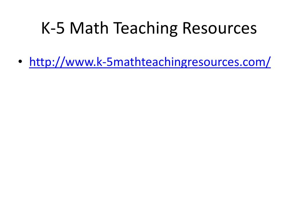 Modern K 5 Math Teaching Resources Com Elaboration - Worksheet Math ...