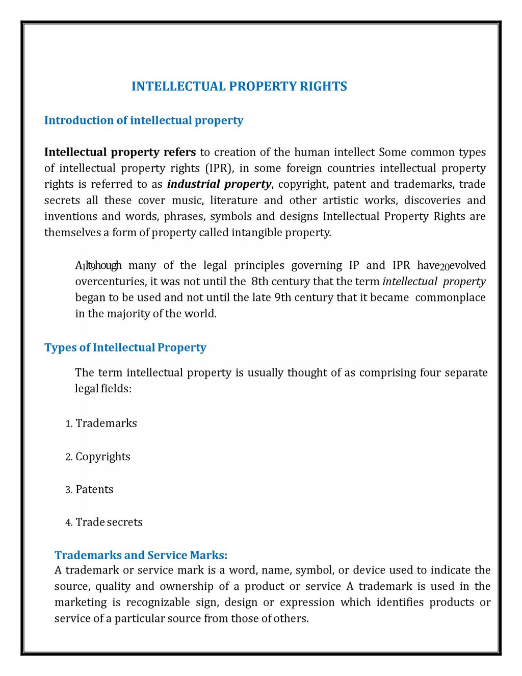 Intellectual property rights lecture notes ppt download 2 intellectual property rights biocorpaavc Images