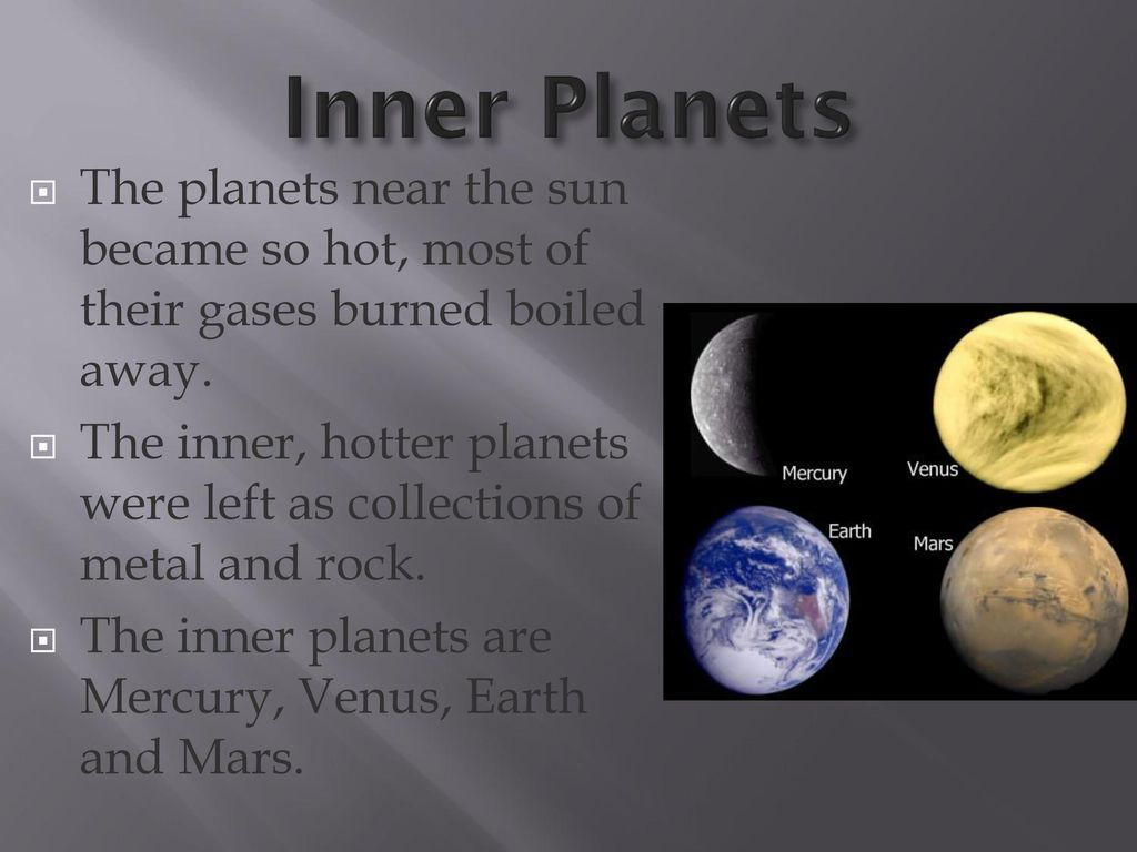 inner planets the sun by - photo #13