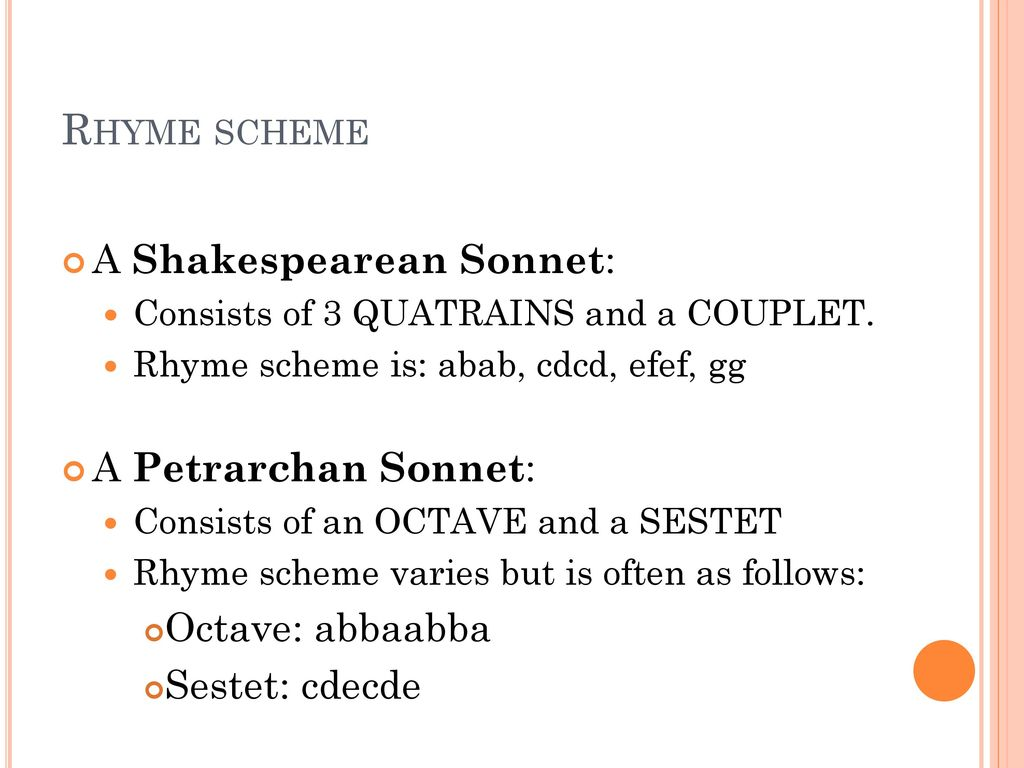 Worksheets Sonnet Worksheet the sonnet ppt download rhyme scheme a shakespearean petrarchan sonnet