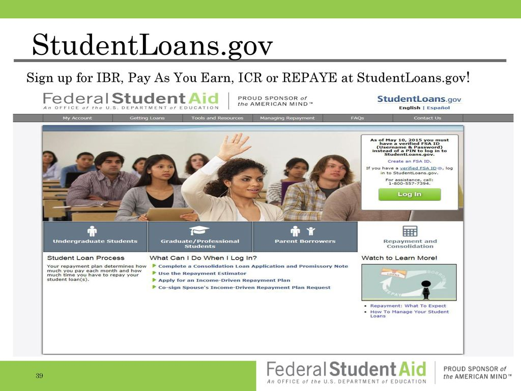 how to pay federal student loans online