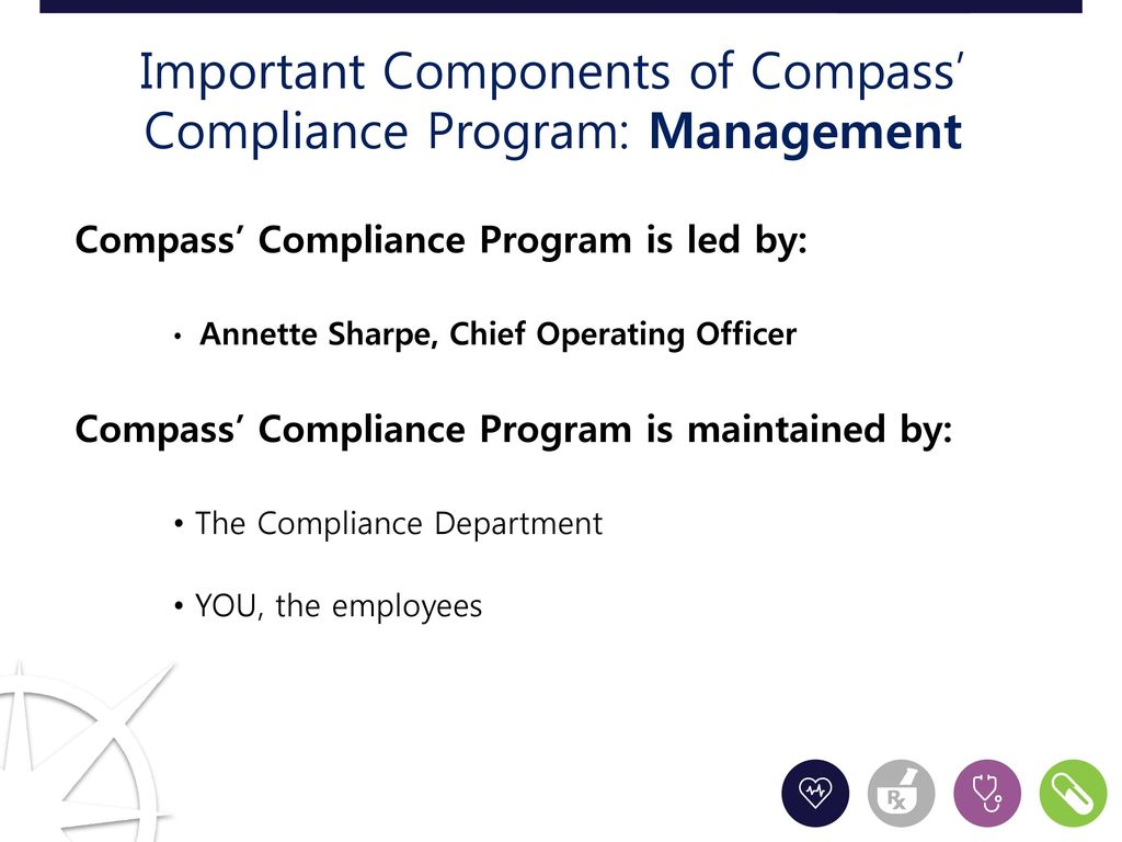 Compliance training compass laboratory services ppt download - Compliance officer certification programs ...