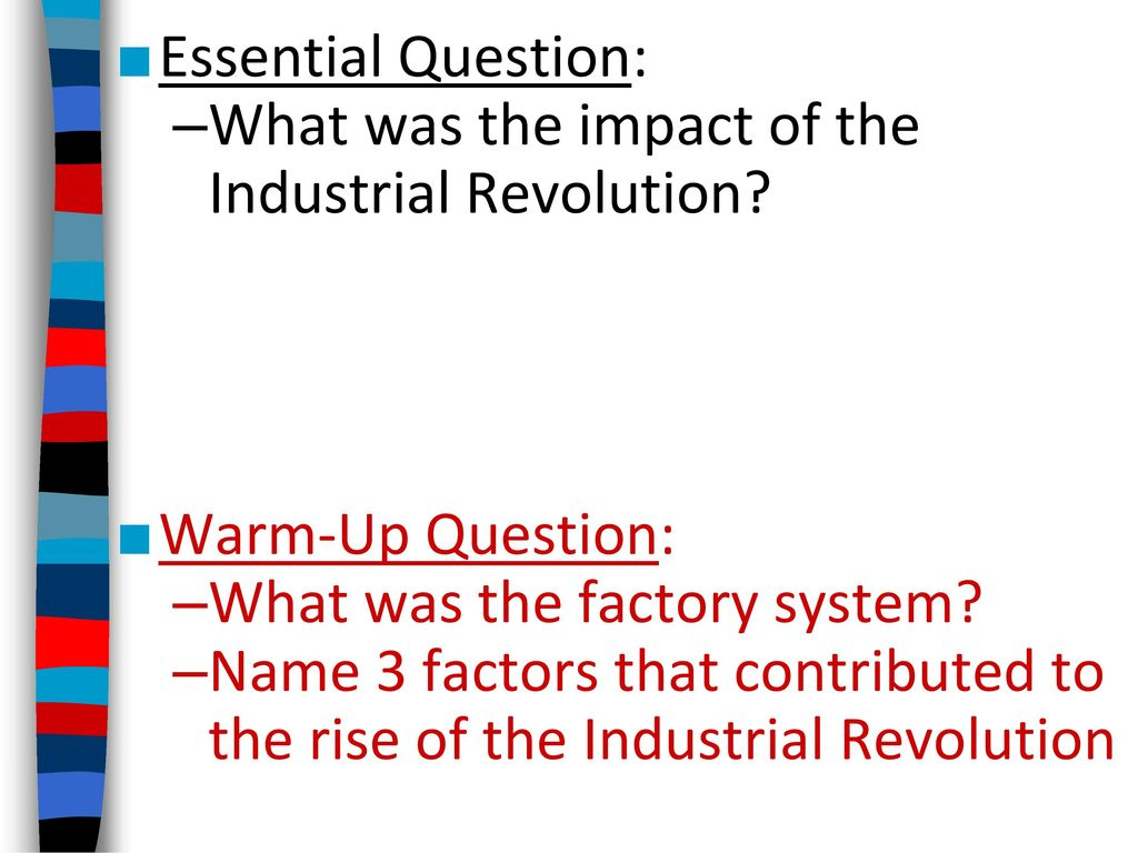impacts of commercial revolution in the Essay the impact of the industrial revolution on western society the industrial revolution had a significant impact on western society and the effects were numerous and mainly positive the industrial revolution began in england in the 1790's and spread throughout europe and eventually to america.