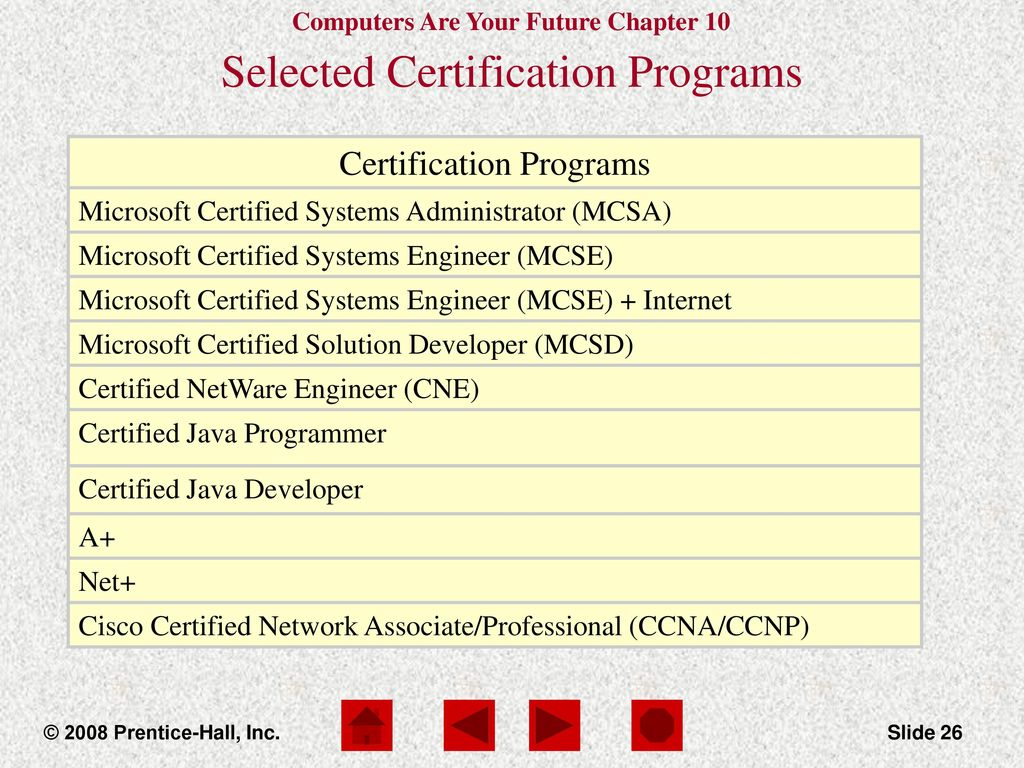 Computers are your future ppt download selected certification programs 1betcityfo Gallery