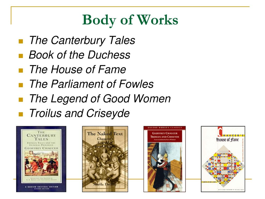 an analysis of the morality of women in the canterbury tales by geoffrey chaucer This thesis aims to analyze female characters in the canterbury tales   geoffrey chaucer is considered to be one of the most relevant poets  among  different genders and classes, the cultural rules and limits, the moral.
