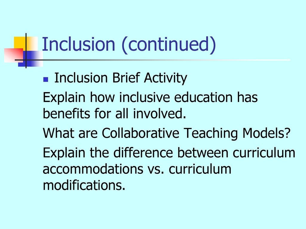 Collaborative Teaching Reaping The Benefits ~ Inclusionary co teaching strategies ppt download