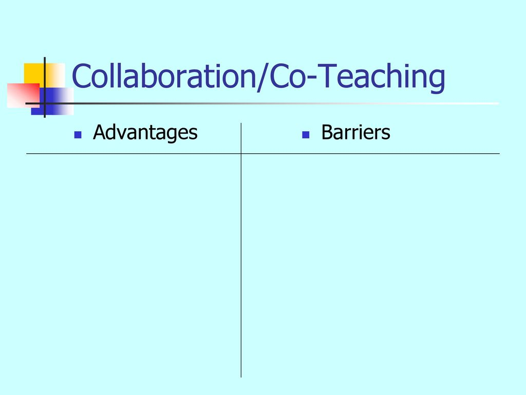 Collaborative Teaching Powerpoint ~ Inclusionary co teaching strategies ppt download