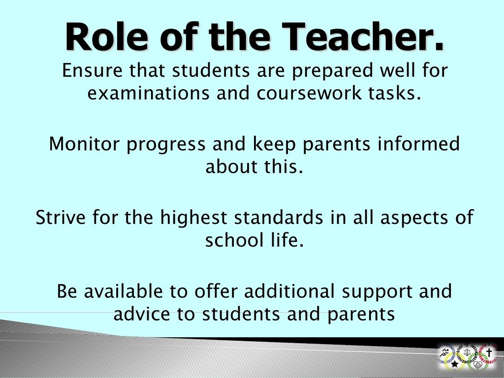 role of teacher in students life Responsibility as compared to other professionals as students look upon the teacher as  role of a teacher was  teacher to face the challenges of life.