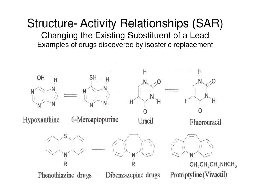 structure activity relationship drugs ppt